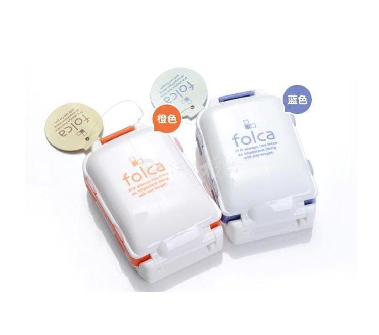 便携日式清新小药盒